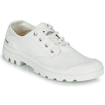 Shoes Low top trainers Palladium PAMPA OX ORGANIC II White