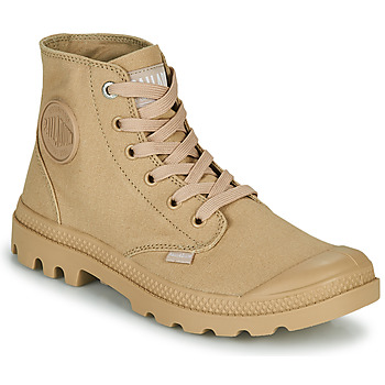 Shoes Mid boots Palladium MONO CHROME Beige