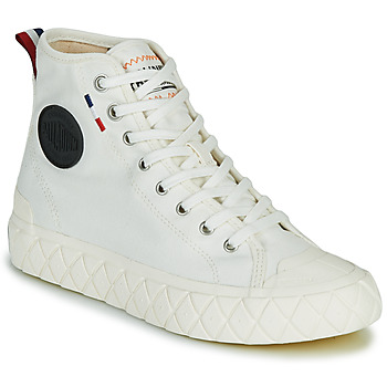 Shoes Hi top trainers Palladium PALLA ACE CVS MID White