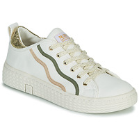 Shoes Women Low top trainers Palladium Manufacture TEMPO 02 CVSG White