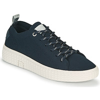 Shoes Women Low top trainers Palladium Manufacture TEMPO 06 KNIT Marine