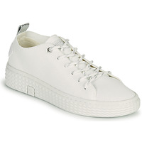 Shoes Women Low top trainers Palladium Manufacture TEMPO 06 KNIT White