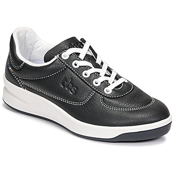 Shoes Women Low top trainers TBS BRANDY Black / White
