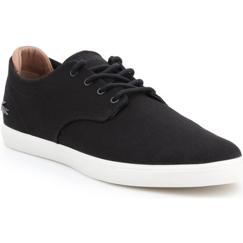 Shoes Women Low top trainers Lacoste Espere 217 1 CAM 7-33CAM1074024 men's lifestyle shoes. black