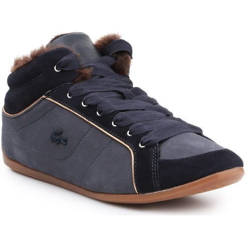 Shoes Women Hi top trainers Lacoste Missano MID 5 SRW DK 7-26SRW4207120 navy