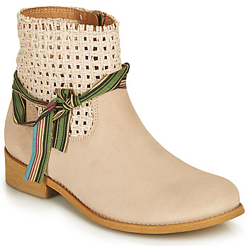 Shoes Women Mid boots Felmini BRENDA Beige