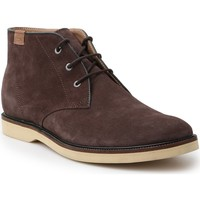 Shoes Men Mid boots Lacoste Sherbrooke HI 14 SRM 7-30SRM0025176 brown