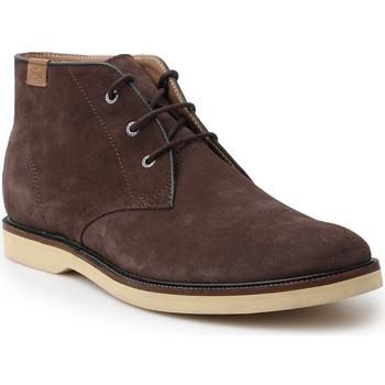 Shoes Men Mid boots Lacoste Sherbrooke HI 14 SRM 7-30SRM0025176 brown