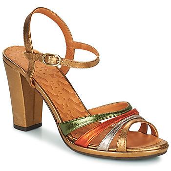 Shoes Women Sandals Chie Mihara ADIEL Green / Bronze