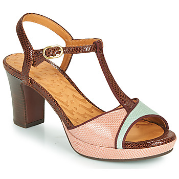 Shoes Women Sandals Chie Mihara NATI Brown / Pink / Green
