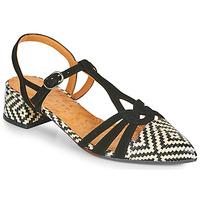 Shoes Women Heels Chie Mihara ROSALI Black / Beige