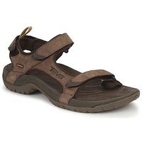 Shoes Men Outdoor sandals Teva TANZA Brown