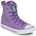 Shoes Girl Hi top trainers Converse ALL STAR PARTY HI Purple / Grey