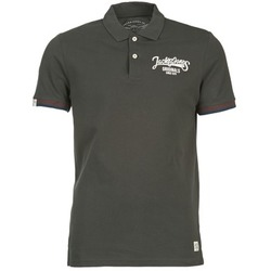 Clothing Men short-sleeved polo shirts Jack & Jones COMPANY Black