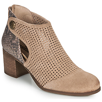 Shoes Women Mid boots Casta COA Taupe