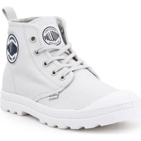 Shoes Women Hi top trainers Palladium LP MID CVS 96710-073-M grey