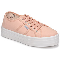 Shoes Women Low top trainers Victoria BARCELONA LONA Pink