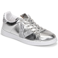 Shoes Women Low top trainers Victoria TENIS METALIZADO Silver