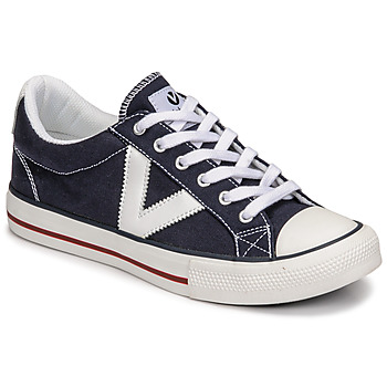 Shoes Low top trainers Victoria TRIBU LONA CONTRASTE Blue