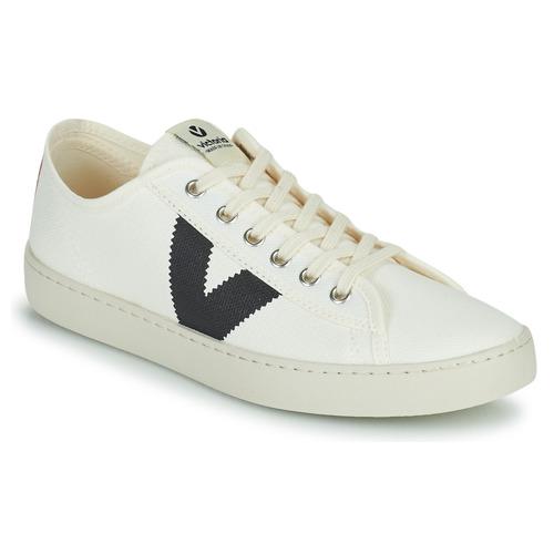 Shoes Women Low top trainers Victoria BERLIN LONA GRUESA White / Blue