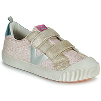 Shoes Girl Low top trainers Victoria HUELLAS TIRAS Pink