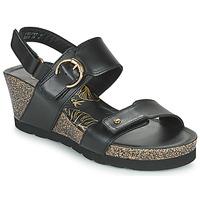 Shoes Women Sandals Panama Jack VELVET Black