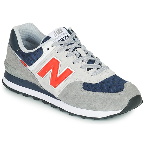 Shoes Men Low top trainers New Balance 574 Grey / Blue / Red
