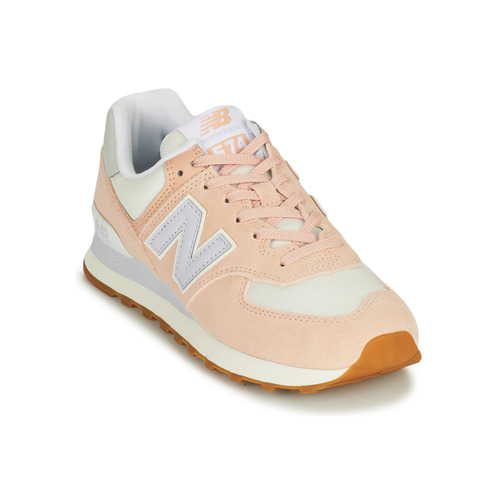 Shoes Women Low top trainers New Balance 574 Pink / Blue