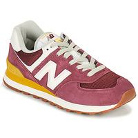Shoes Women Low top trainers New Balance 574 Bordeaux