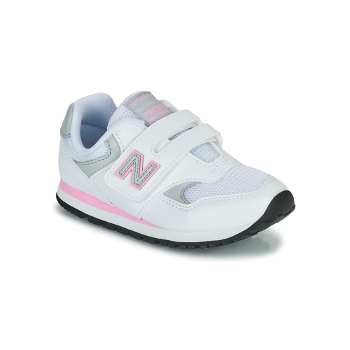 Shoes Girl Low top trainers New Balance 393 White / Pink