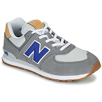 Shoes Boy Low top trainers New Balance 574 Grey / Blue