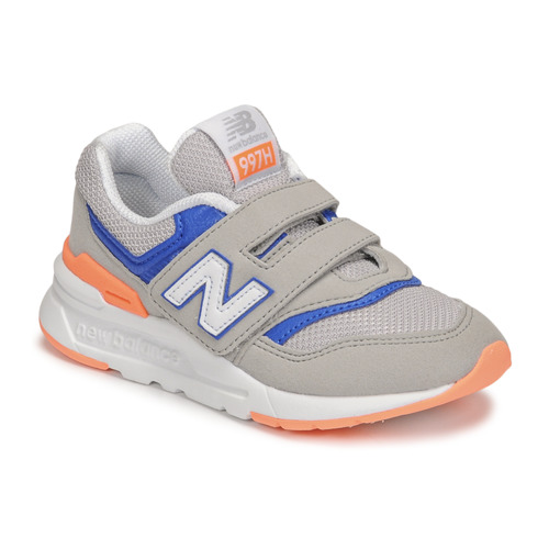 Shoes Boy Low top trainers New Balance 997 Grey / Blue