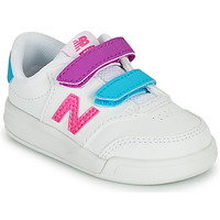 Shoes Girl Low top trainers New Balance COURT White / Pink