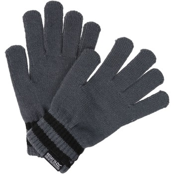 Clothes accessories Men Gloves Regatta Davion II Knitted Gloves Asteroid Black Grey Grey