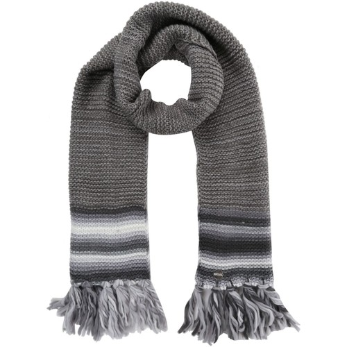 Clothes accessories Women Scarves / Slings Regatta Women's Frosty IV Knitted Fringe Hem Scarf Grey