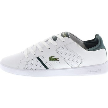 Shoes Men Low top trainers Lacoste Novas CT White