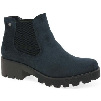Shoes Women Mid boots Rieker Acorn Womens Chelsea Boots blue