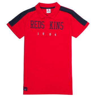 Clothing Boy Short-sleeved polo shirts Redskins PO180117-RED Red