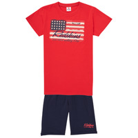 Clothing Boy Tracksuits Redskins SET301-RED-NAVY Multicolour