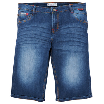 Clothing Boy Shorts / Bermudas Redskins JNS45026-DENIM Blue