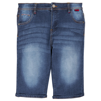 Clothing Boy Shorts / Bermudas Redskins 180154-DENIM Blue