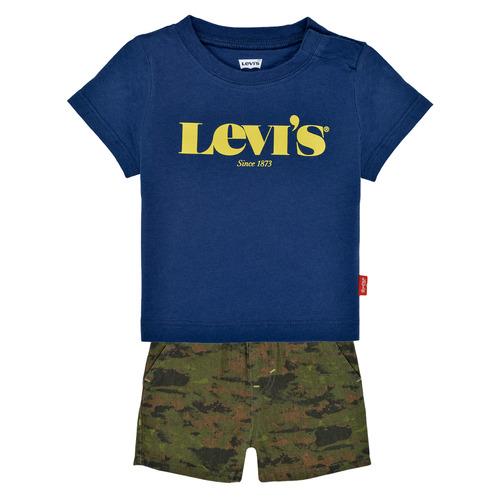 Clothing Boy Sets & Outfits Levi's 6EC678-U29 Multicolour