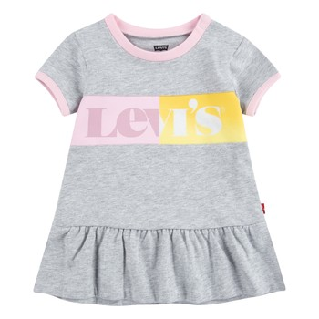 Clothing Girl Short Dresses Levi's 1EC694-G2H Grey