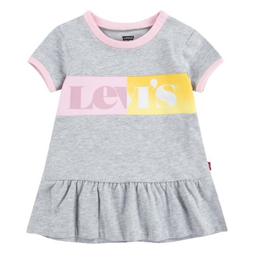 Clothing Girl Short Dresses Levi's 1EC694-G2H Grey