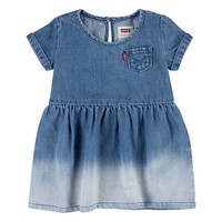 Clothing Girl Short Dresses Levi's 1EC693-M0E Blue