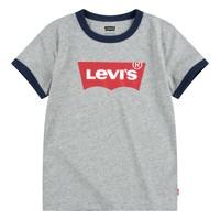 Clothing Boy Short-sleeved t-shirts Levi's BATWING RINGER TEE Grey