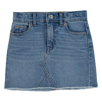 Clothing Girl Skirts Levi's 3E4890-L4A Blue