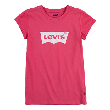 Clothing Girl Short-sleeved t-shirts Levi's BATWING TEE SS Pink
