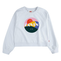 Clothing Girl Sweaters Levi's 3ED410-001 White