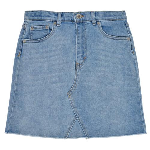 Clothing Girl Skirts Levi's 4E4890-L4A Blue